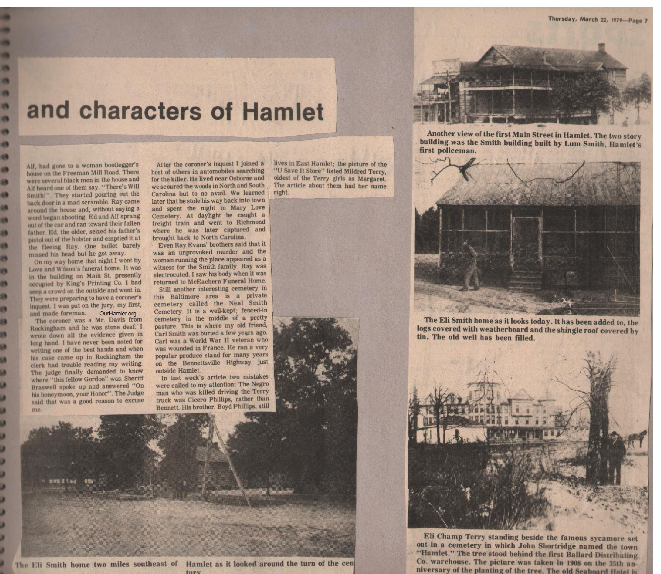 The Squire - Interesting Facts and Characters of Hamlet b OH