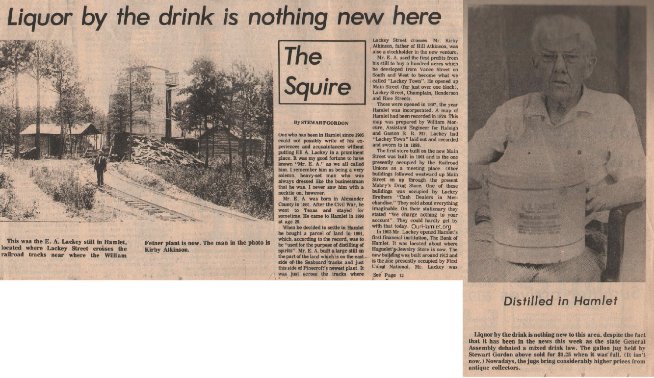 The Squire - Liquor by the drink is not new here1 OH