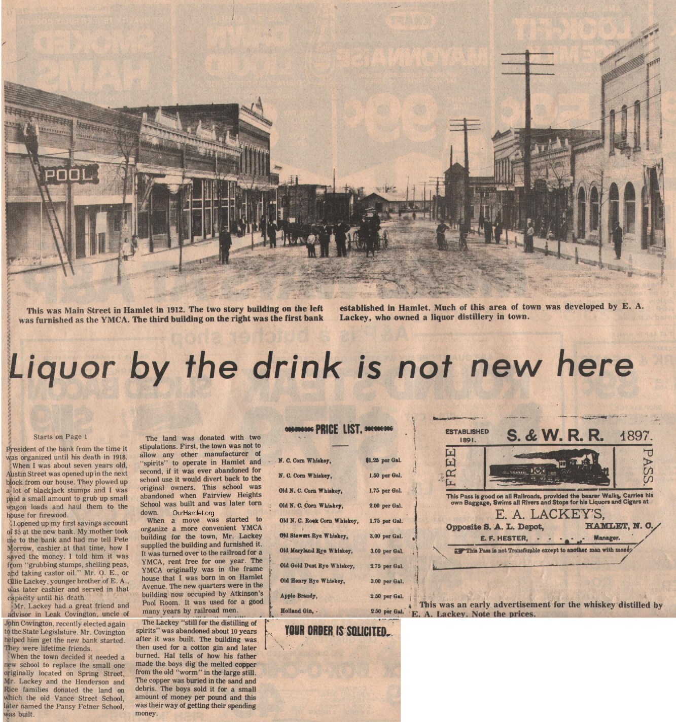 The Squire - Liquor by the drink is not new here2 OH
